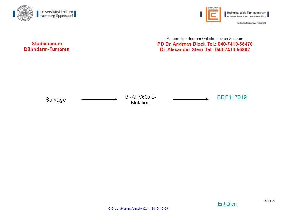 Studienbaum Dünndarm-Tumoren