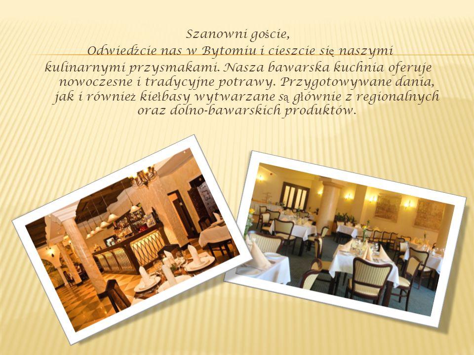 Szanowni goście, Odwiedźcie nas w Bytomiu i cieszcie się naszymi kulinarnymi przysmakami.