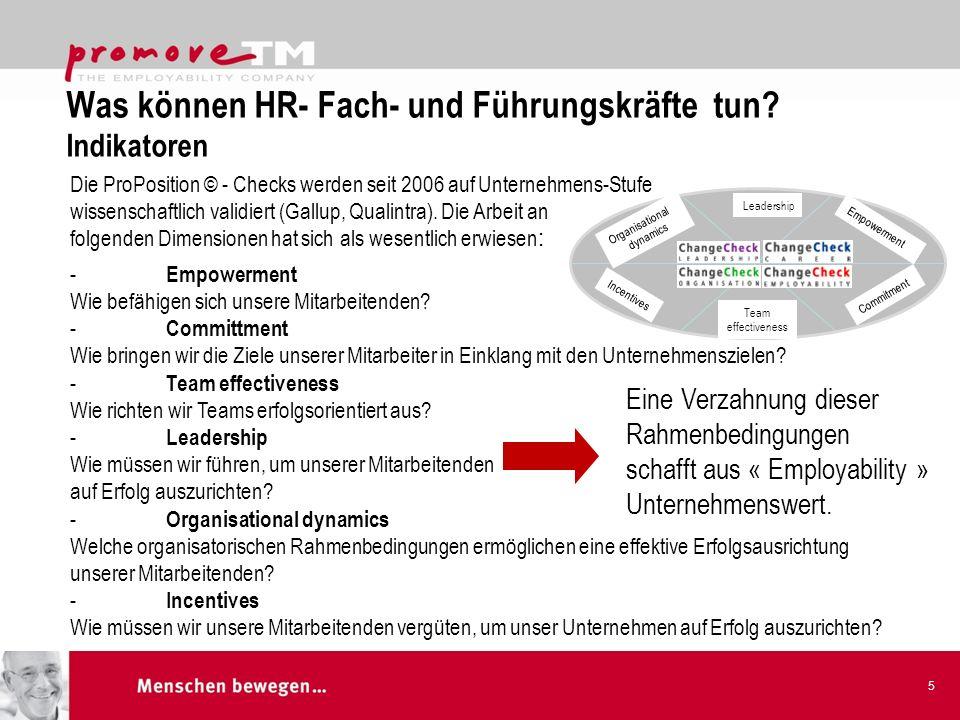 Was können HR- Fach- und Führungskräfte tun Indikatoren