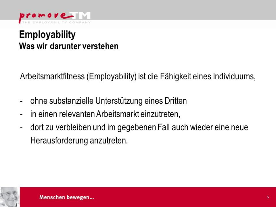 Employability Was wir darunter verstehen