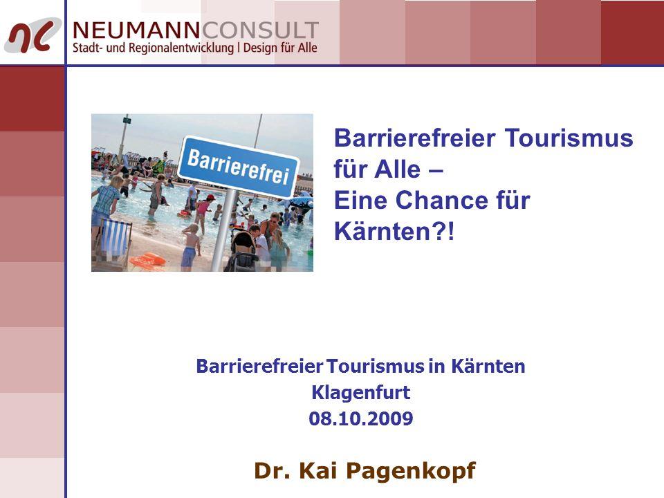 Barrierefreier Tourismus in Kärnten
