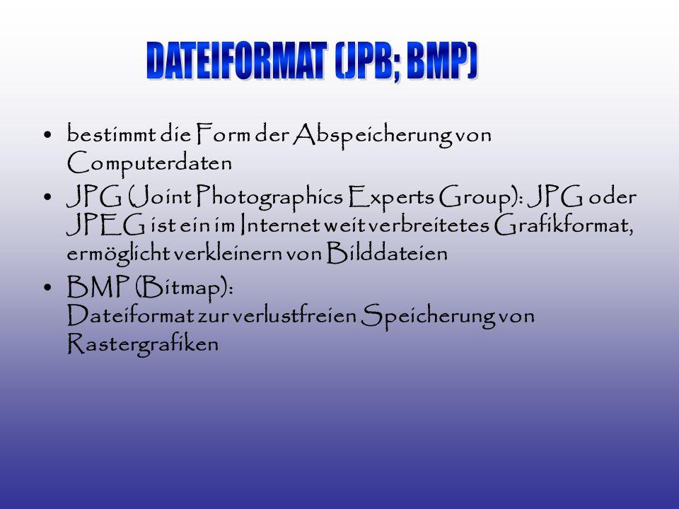DATEIFORMAT (JPB; BMP)