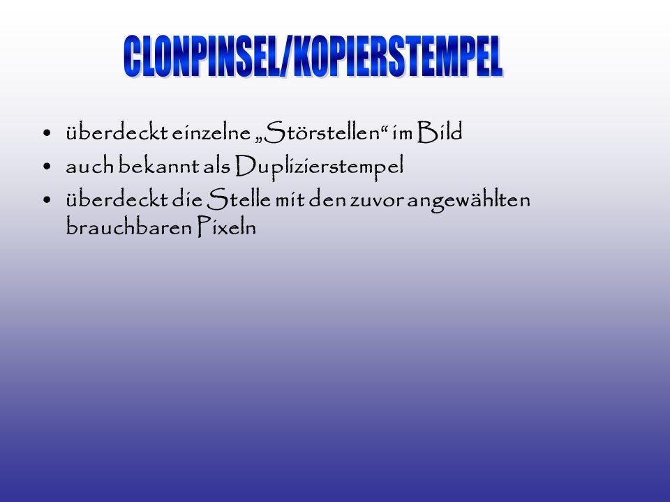 CLONPINSEL/KOPIERSTEMPEL