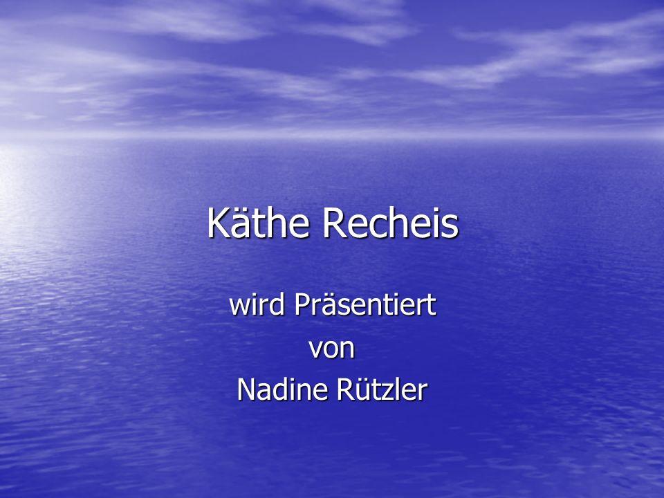 wird Präsentiert von Nadine Rützler