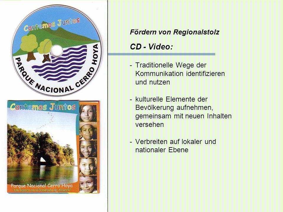 CD - Video: Fördern von Regionalstolz