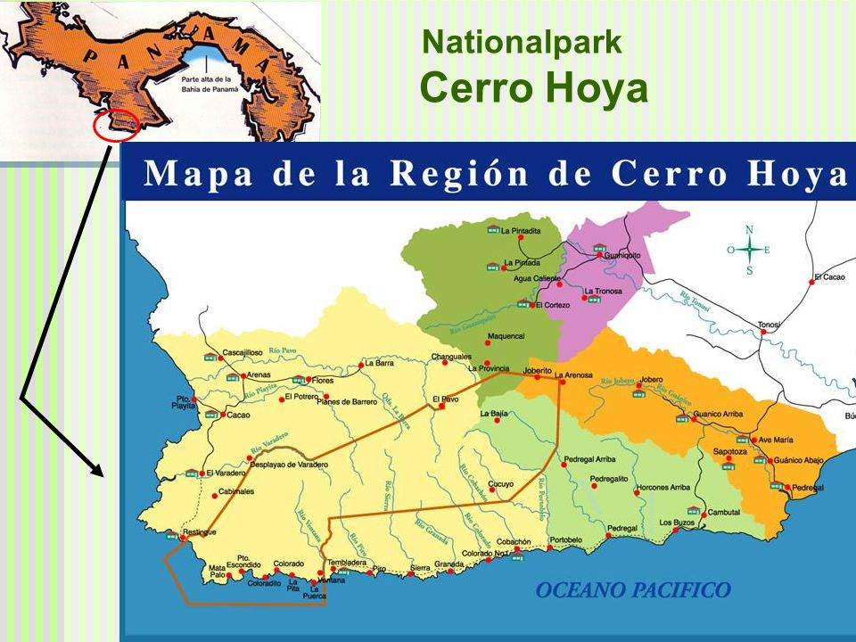 Nationalpark Cerro Hoya