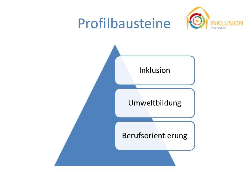 Profilbausteine Inklusion Umweltbildung Berufsorientierung