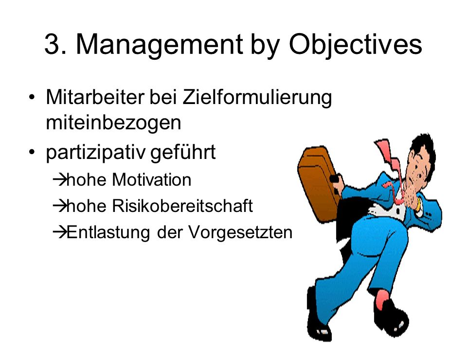 3. Management by Objectives