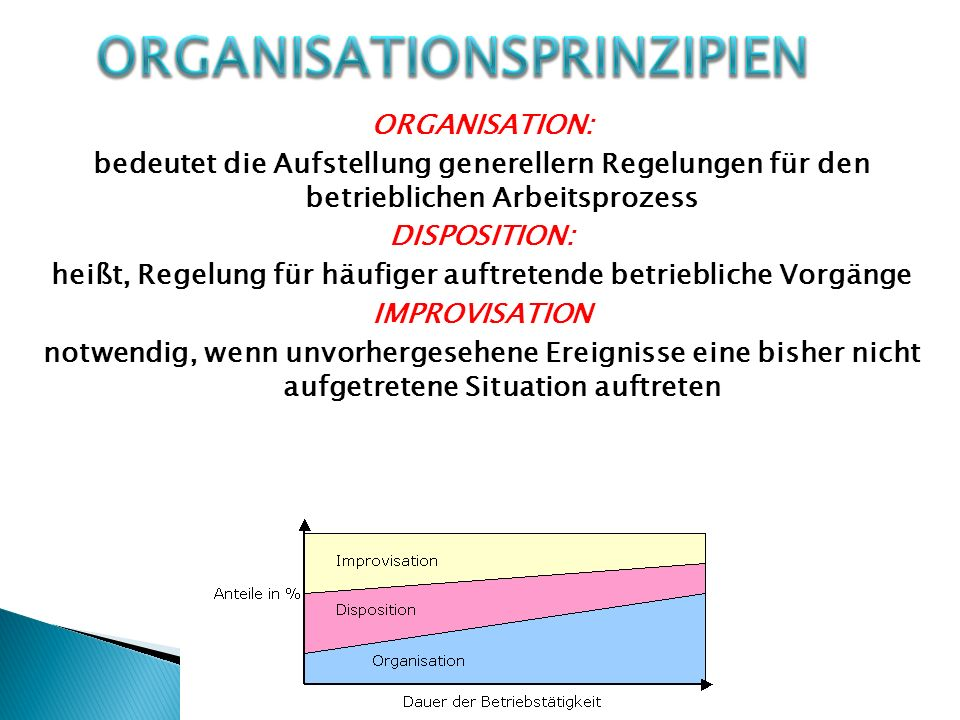 Organisationsprinzipien