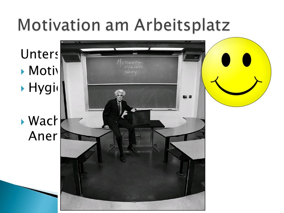 Motivation am Arbeitsplatz