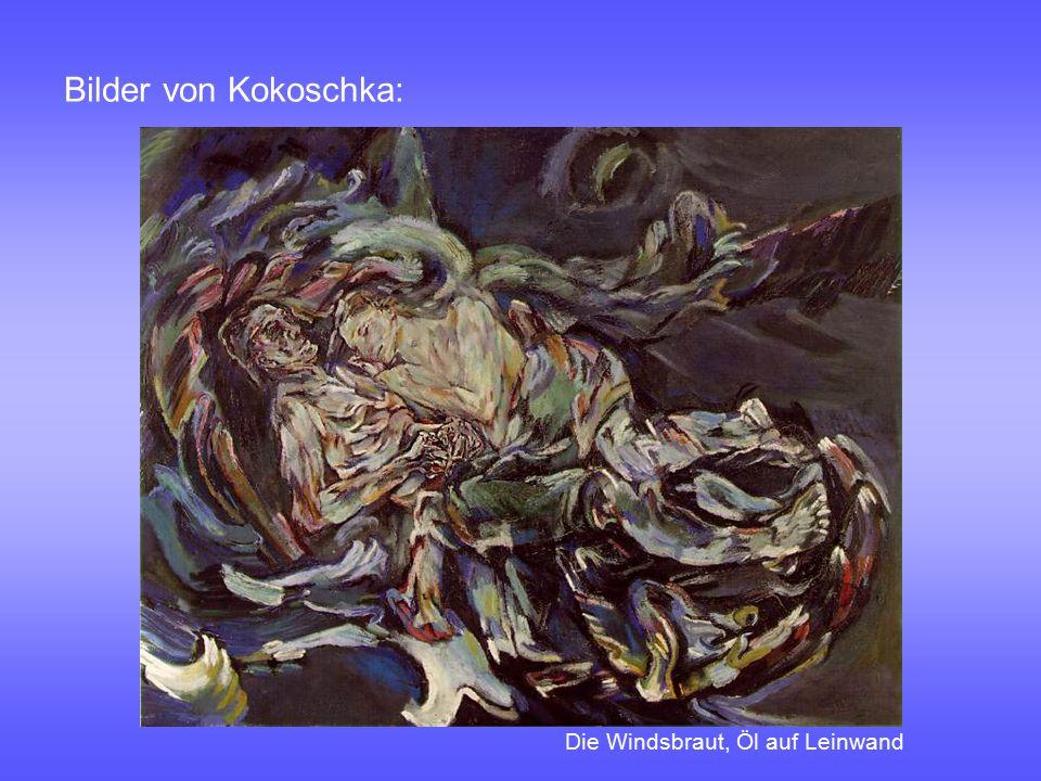 Bilder von Kokoschka: Die Windsbraut, Öl auf Leinwand