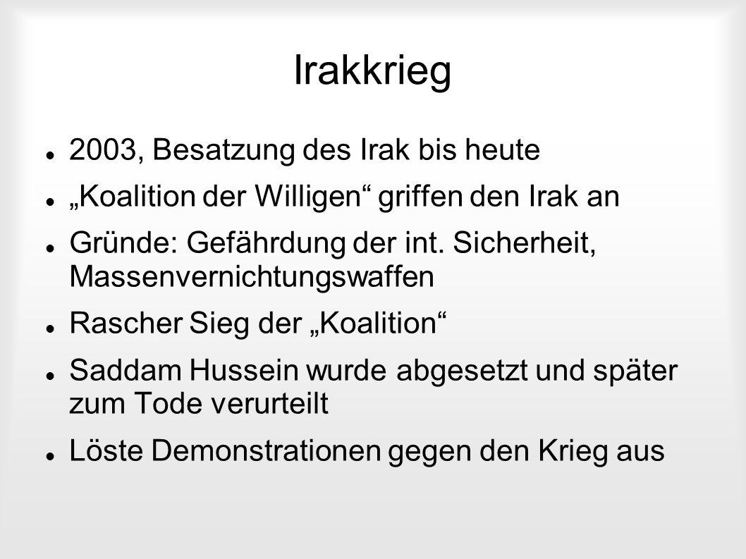 Irakkrieg 2003, Besatzung des Irak bis heute