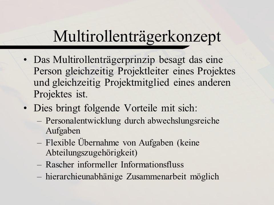 Multirollenträgerkonzept
