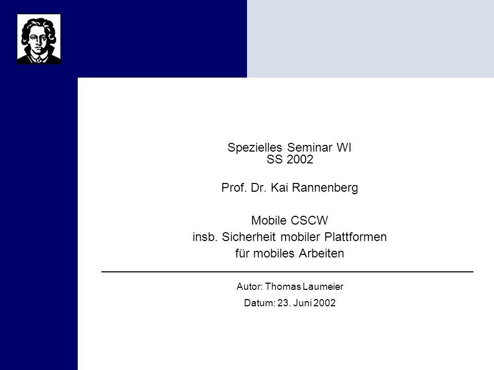Portalbeispiele B2C Spezielles Seminar WI SS 2002