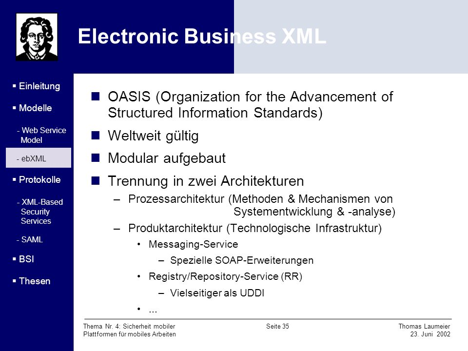 Electronic Business XML