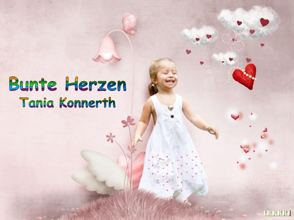Bunte Herzen Tania Konnerth