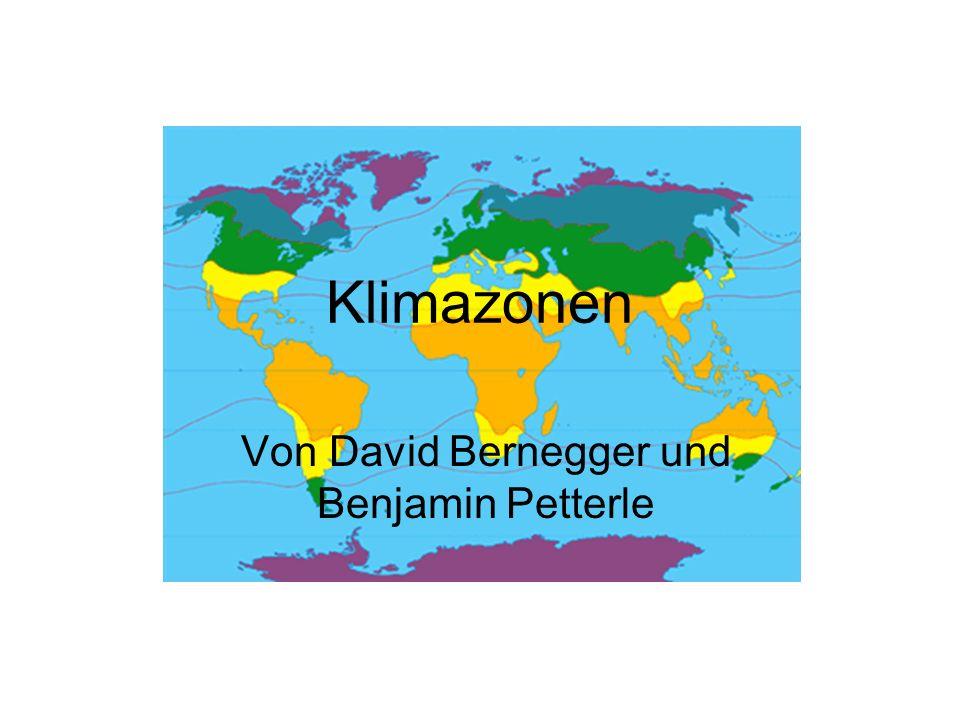Von David Bernegger und Benjamin Petterle