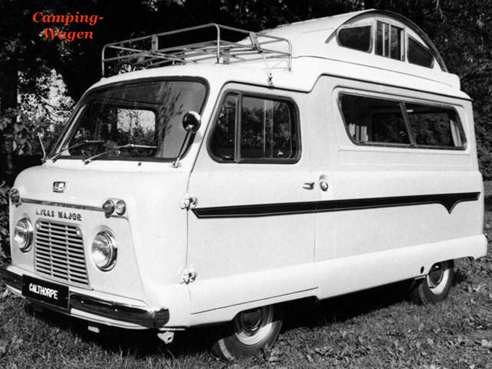 Camping-Wagen