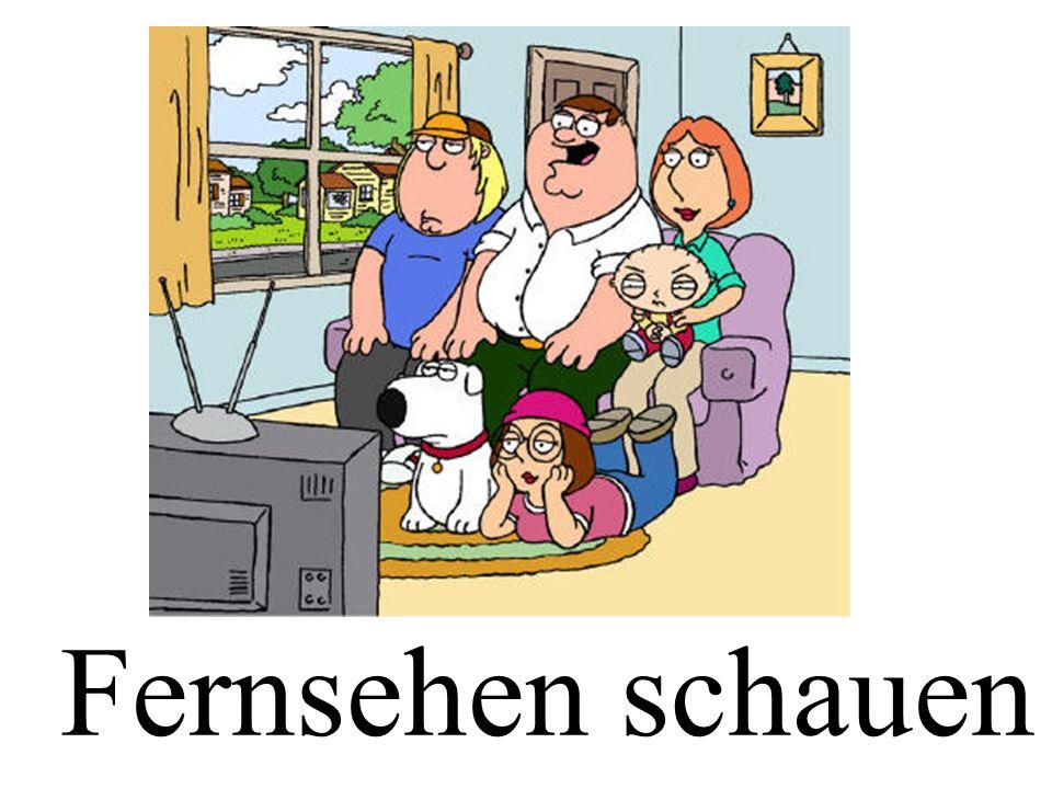 Fernsehen schauen