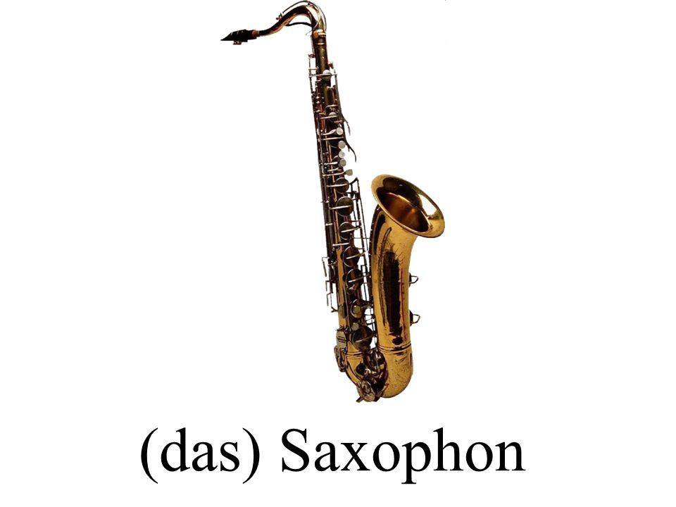 (das) Saxophon