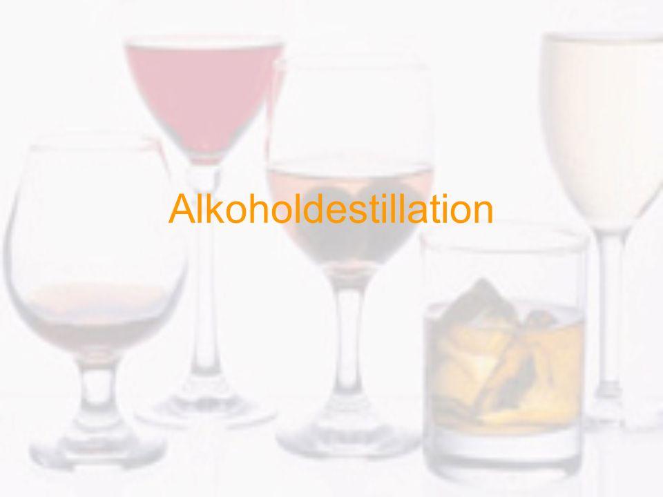 Alkoholdestillation