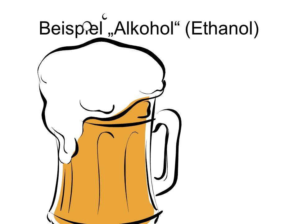 """Beispiel """"Alkohol (Ethanol)"""