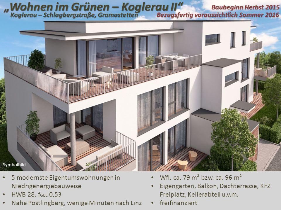 """""""Wohnen im Grünen – Koglerau II"""