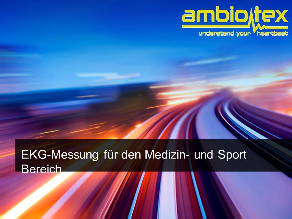 EKG-Messung für den Medizin- und Sport Bereich