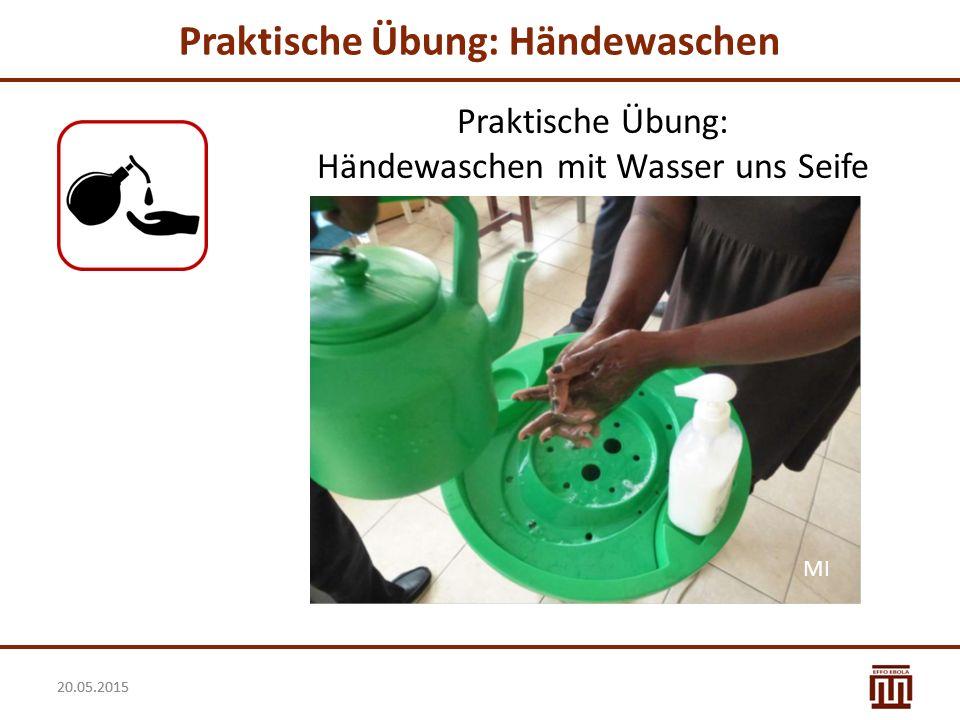 Praktische Übung: Händewaschen