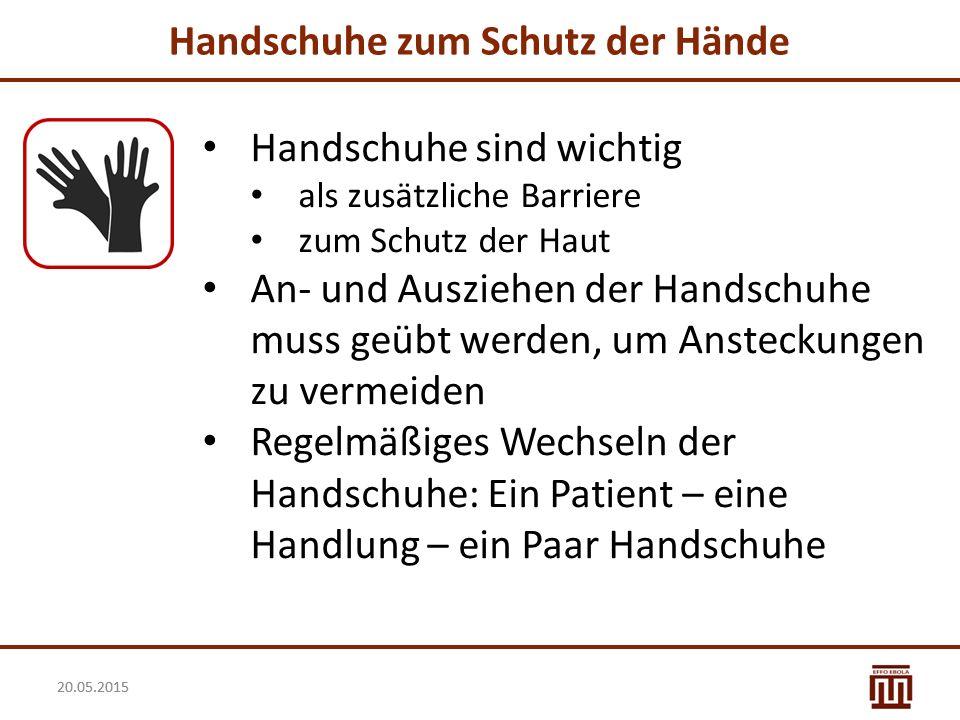 Handschuhe zum Schutz der Hände