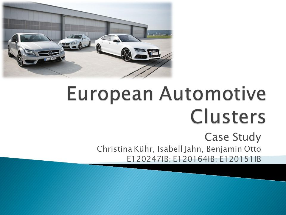 analysis of the styrian automotive cluster Durban automotive cluster about the client the ethekwini municipality is home to the city of durban, which has a large and diversified economy with substantial .