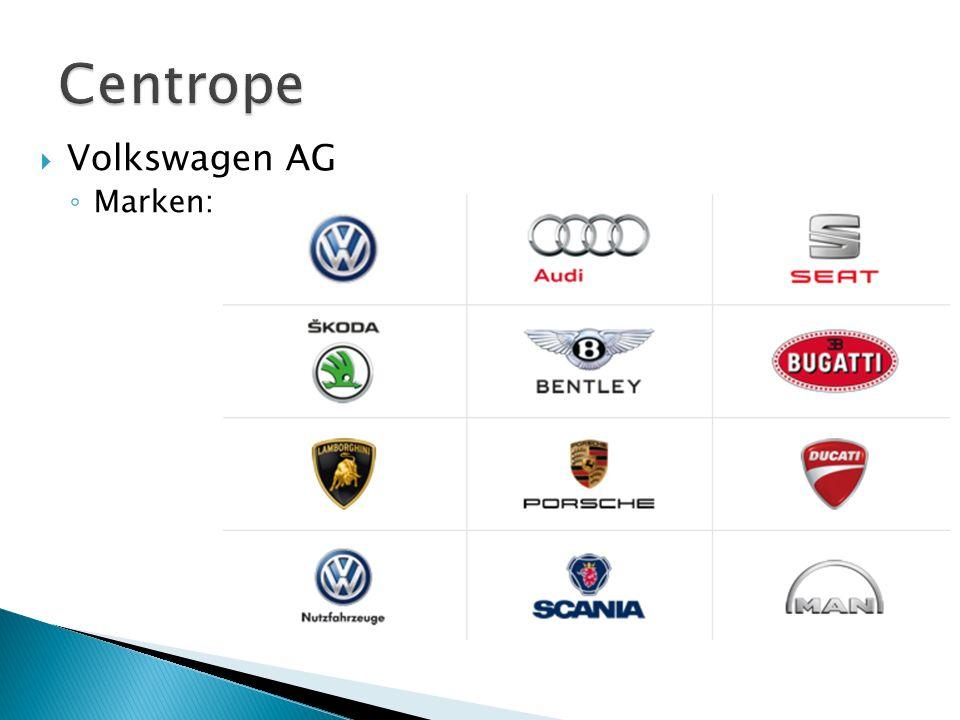 Centrope Volkswagen AG Marken: