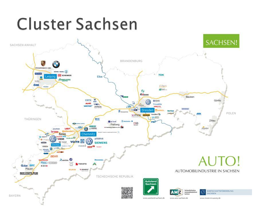 Cluster Sachsen Volkswagen