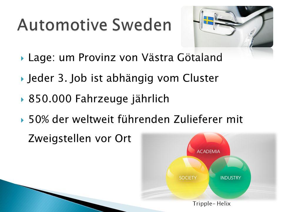 Automotive Sweden Lage: um Provinz von Västra Götaland