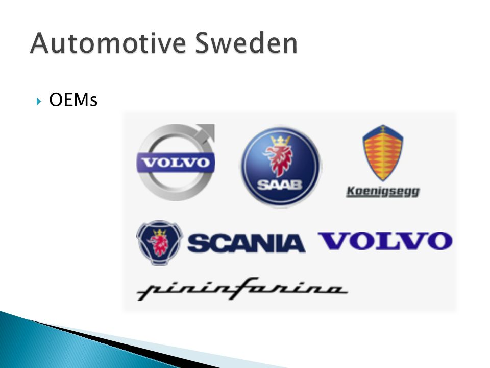 Automotive Sweden OEMs