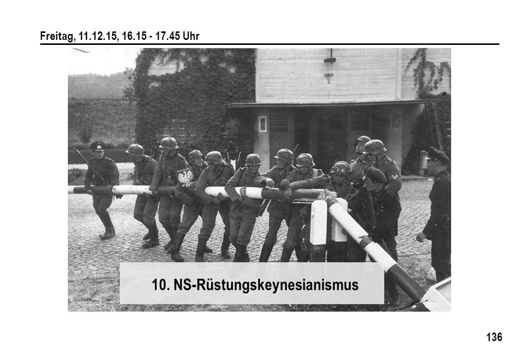 10. NS-Rüstungskeynesianismus