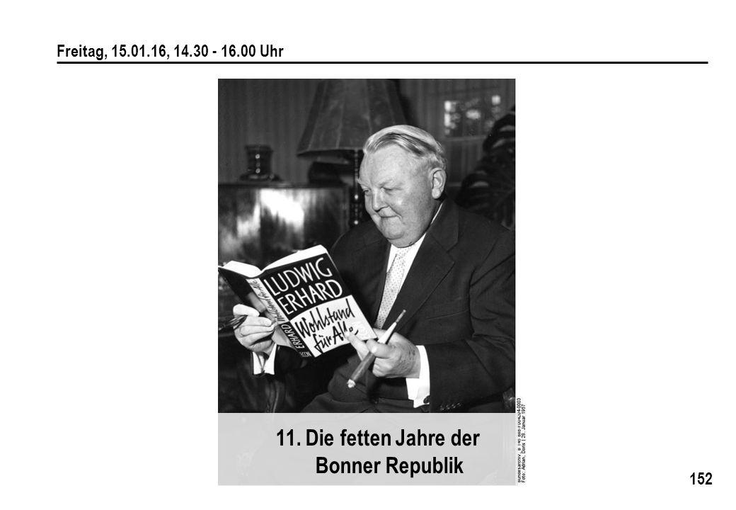 11. Die fetten Jahre der Bonner Republik