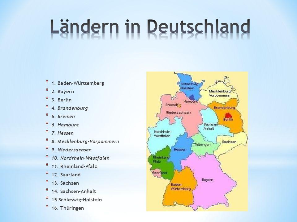Ländern in Deutschland