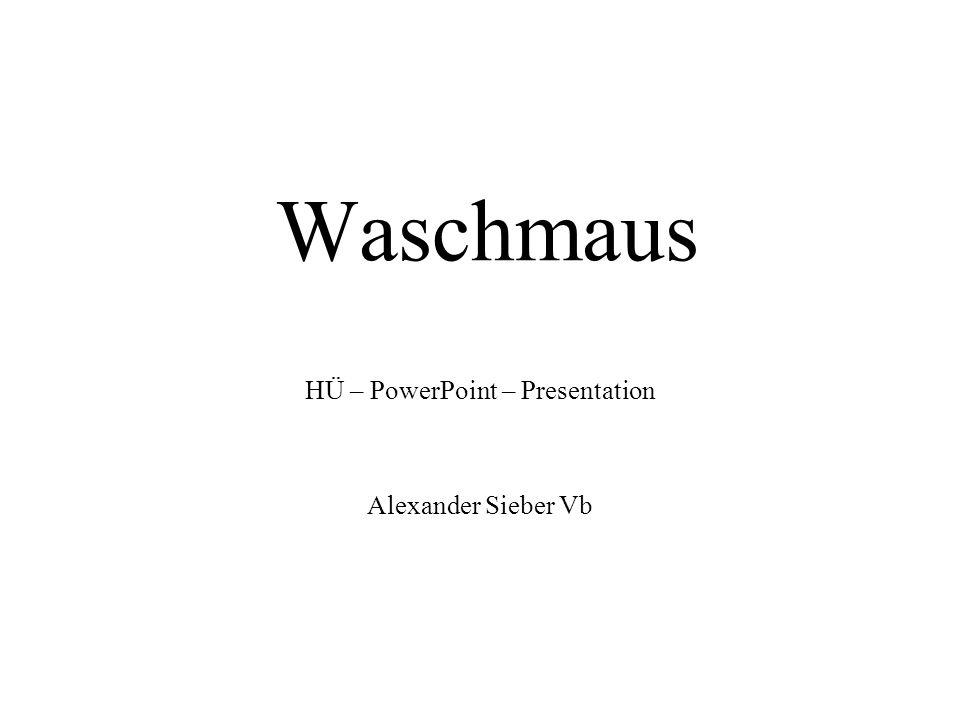 HÜ – PowerPoint – Presentation Alexander Sieber Vb