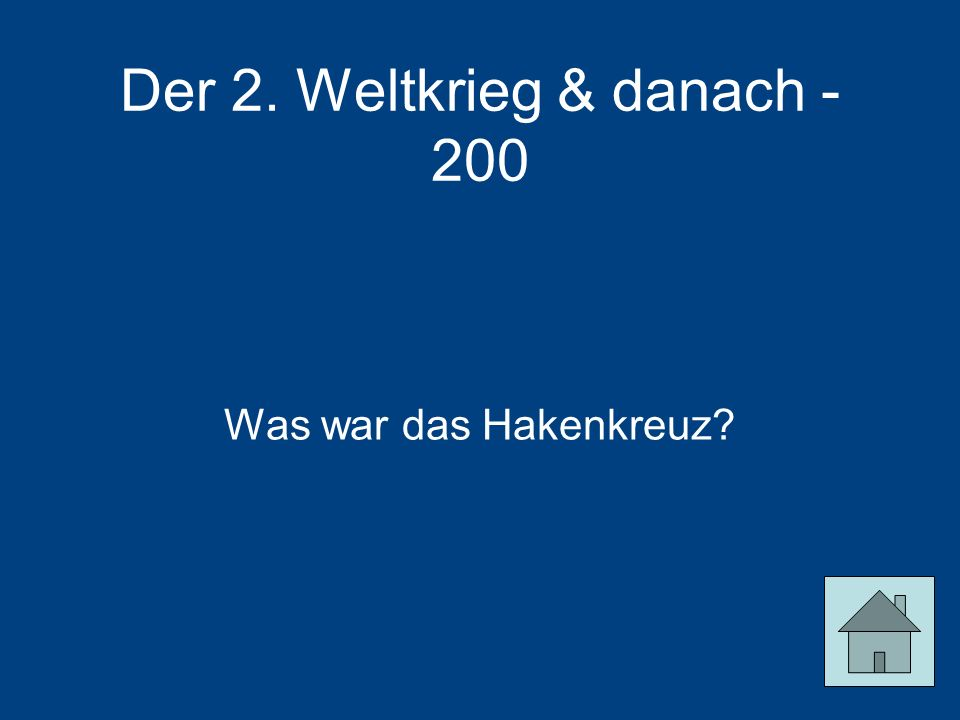 Der 2. Weltkrieg & danach - 200