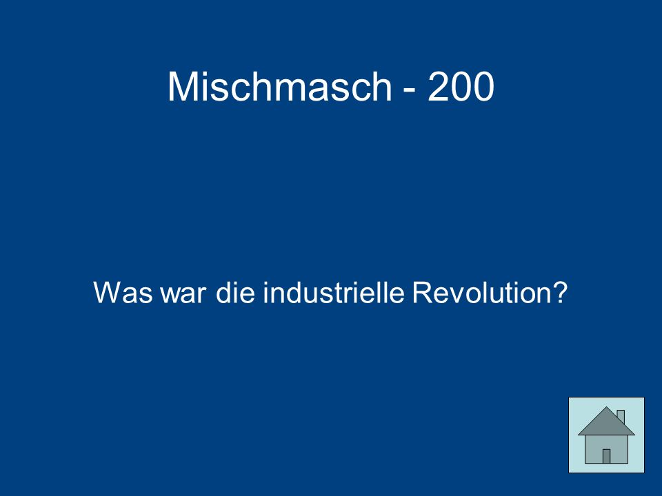 Was war die industrielle Revolution