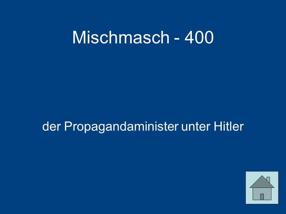 der Propagandaminister unter Hitler