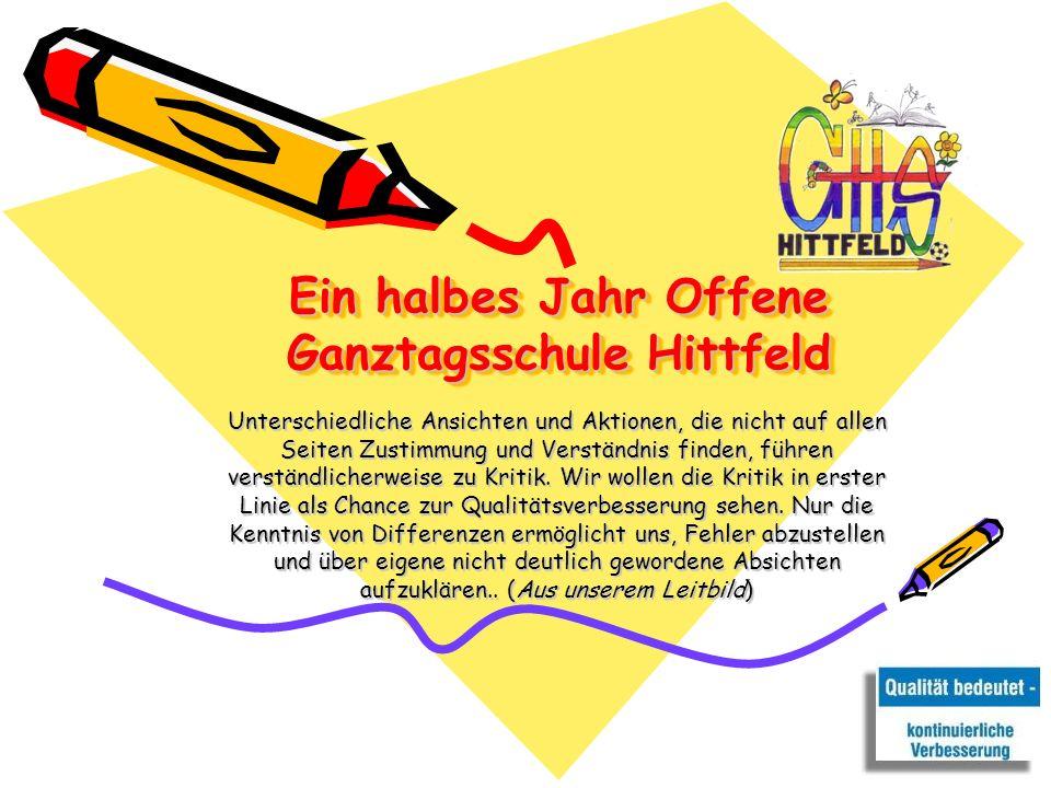Ein halbes Jahr Offene Ganztagsschule Hittfeld