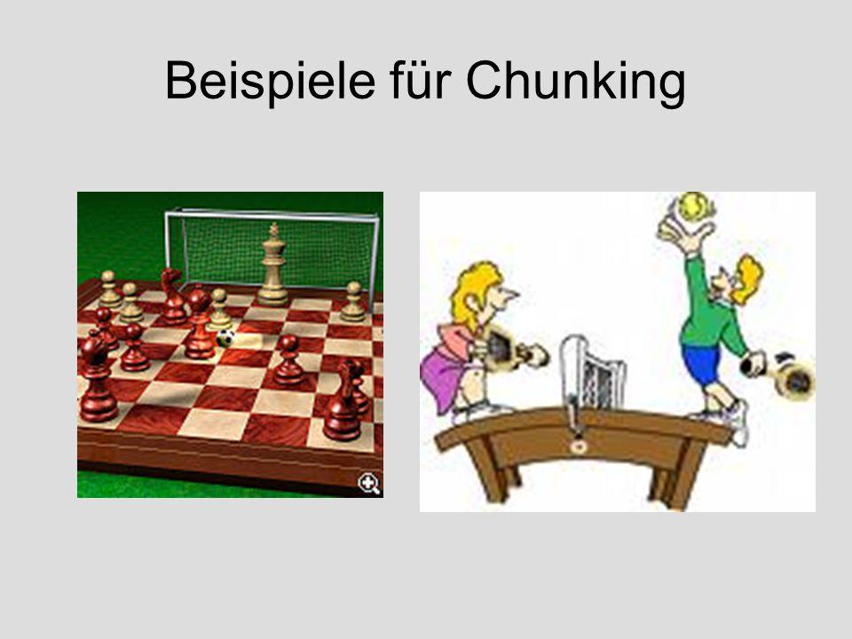 Beispiele für Chunking