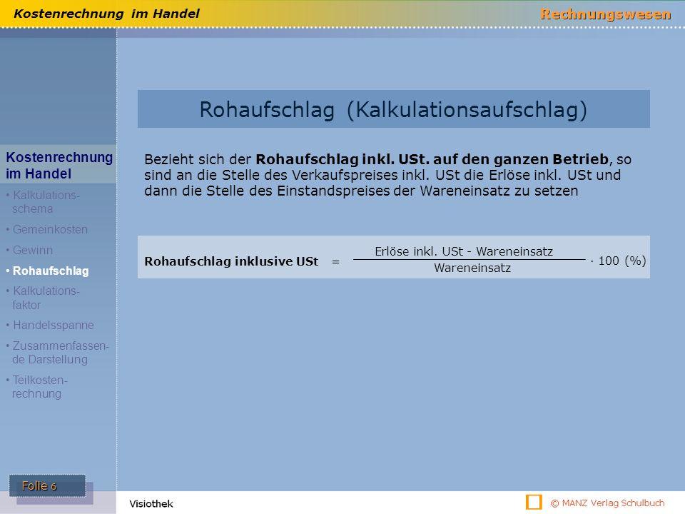 Rohaufschlag (Kalkulationsaufschlag)
