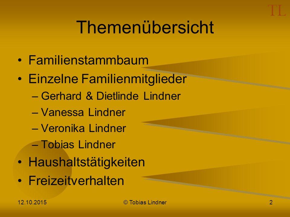 Themenübersicht Familienstammbaum Einzelne Familienmitglieder