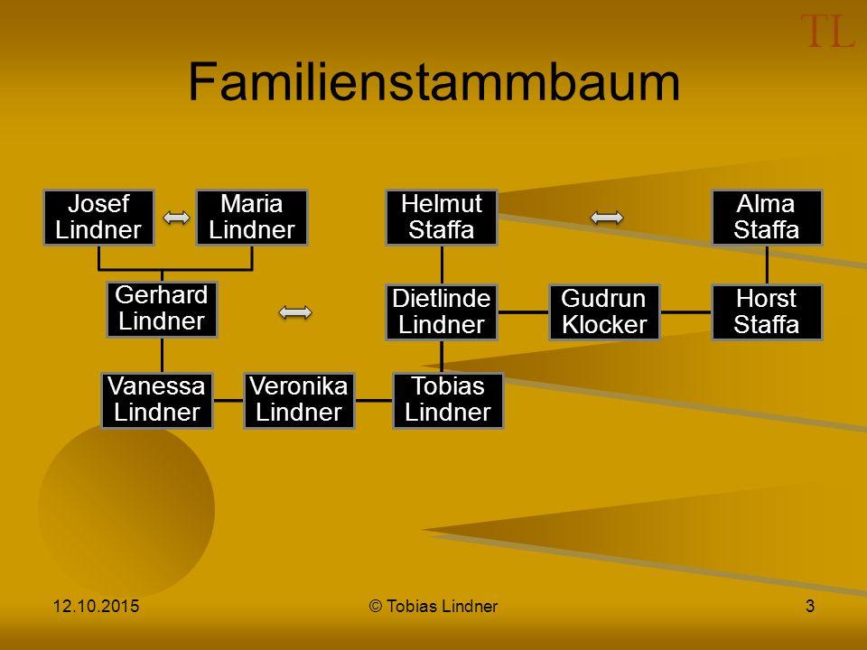 Familienstammbaum 24.04.2017 © Tobias Lindner Josef Lindner