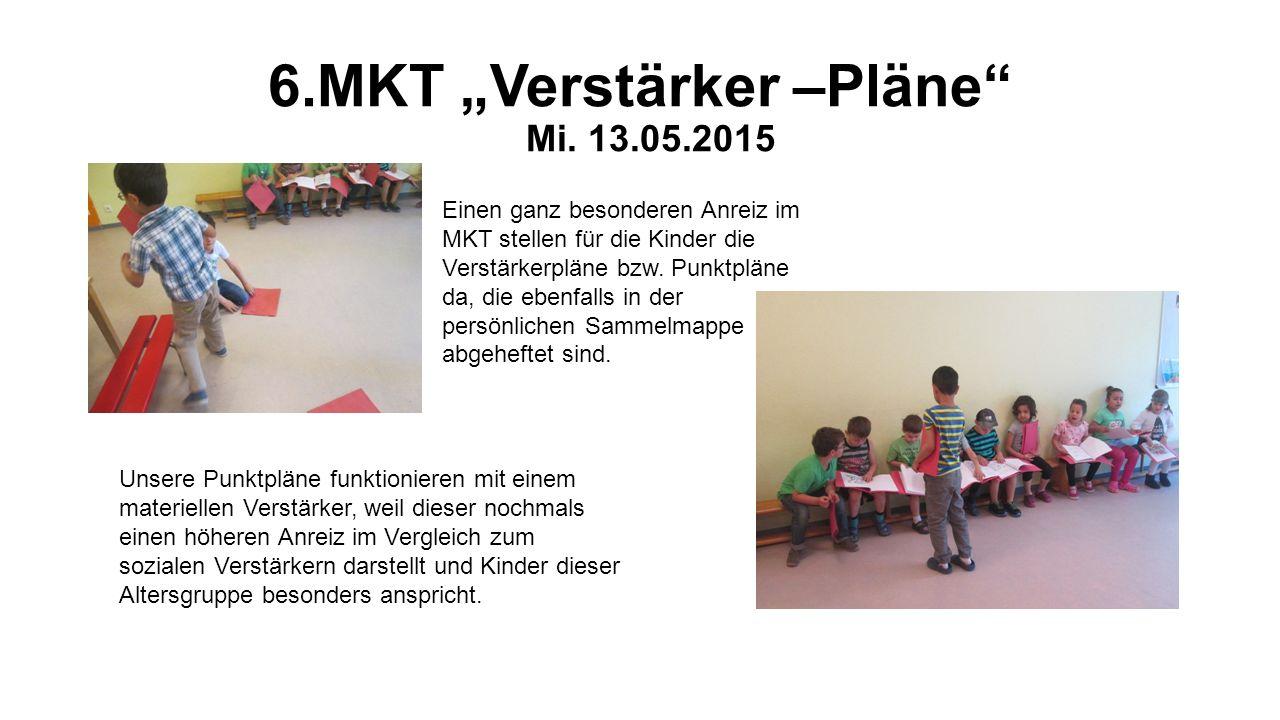"""6.MKT """"Verstärker –Pläne Mi. 13.05.2015"""