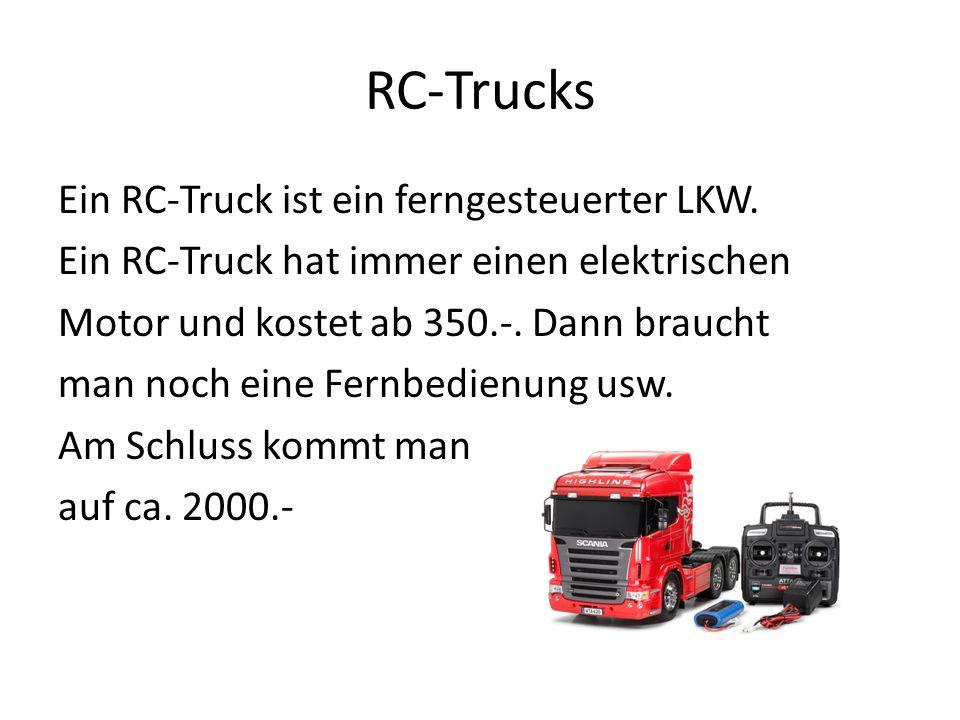 RC-Trucks