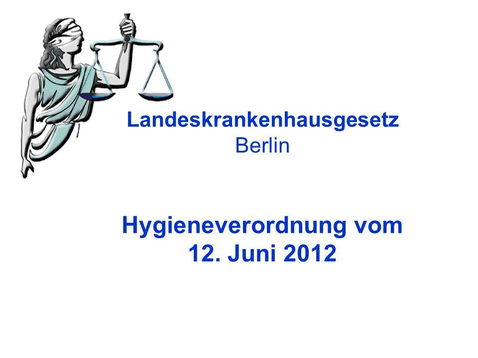 Hygieneverordnung vom 12. Juni 2012